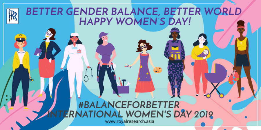Better Gender Balance, Better World, #BalanceforBetter - International Women's Day 2019