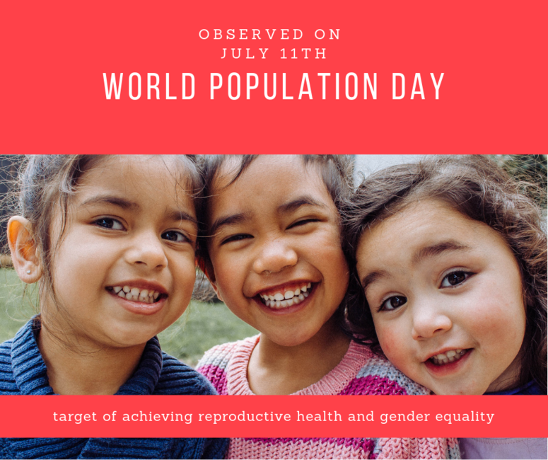 World Population Day – 11 July 2019