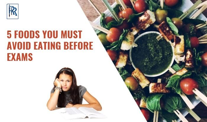 5 FOODS YOU MUST AVOID EATING BEFORE EXAMS